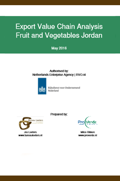 Export Value Chain Analysis Fruit and Vegetables Jordan