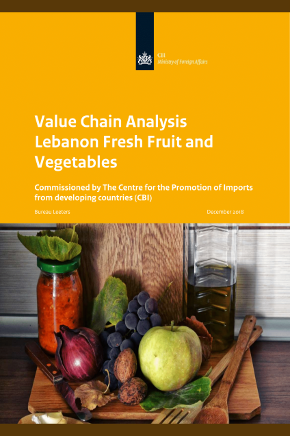 Export Value Chain Analysis Fresh Fruit and Vegetables Lebanon
